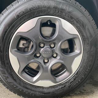 ジープ(Jeep)の【期間限定】ジープレネゲード 純正ホイール スタッドレスタイヤ付き(タイヤ・ホイールセット)
