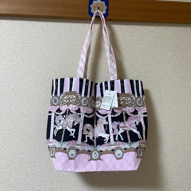 Angelic Pretty(アンジェリックプリティー)のDay Dream Carnival トートバッグ最後値下げ レディースのバッグ(トートバッグ)の商品写真