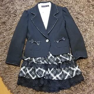 ヒロミチナカノ(HIROMICHI NAKANO)の入学式 女の子スーツ3点セット 120cm(ドレス/フォーマル)