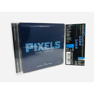 【新品同様】映画『ピクセル』サントラCD/国内盤/帯付/クリスコロンバス/希少盤(映画音楽)