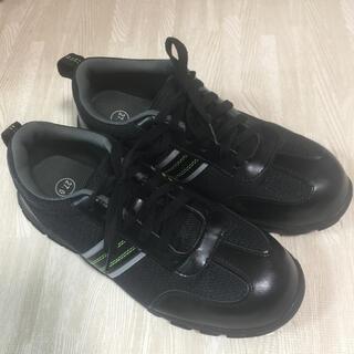 ワークマン workman メンズ 27cm スニーカー 作業靴 ブラック