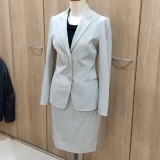アナイ(ANAYI)のANAYIアナイ スカートスーツ ベージュ系 上S 下M 美品(スーツ)
