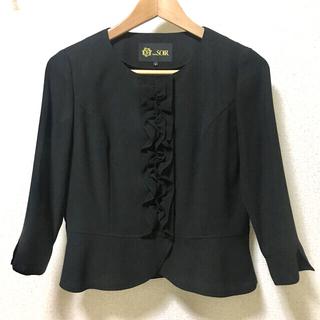 ソワール(SOIR)のTokyo SOIR 東京ソワール フォーマルブラウス 7分袖 美品(礼服/喪服)