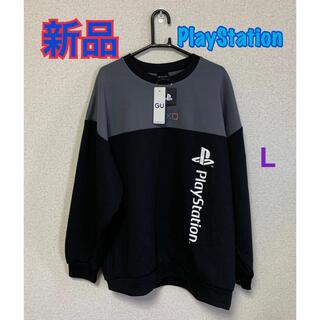 ジーユー(GU)の⭐️新品未使用⭐GU  PlayStation トレーナー(スウェット)