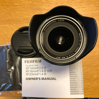 富士フイルム - FUJIFILM XF16mm F1.4 R WR