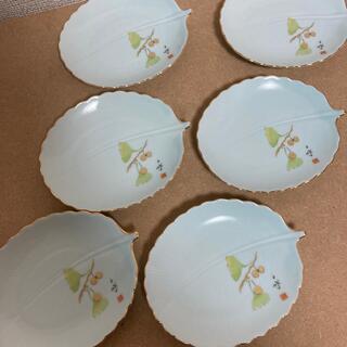 池坊 葉型 小皿 6枚セット (食器)