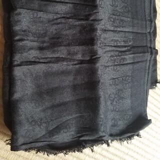 CHANEL - シャネル CHANEL ストール スカーフ 黒