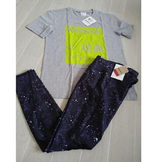 リーボック(Reebok)のリーボックレギンスタイツ レディースReebokTシャツ(トレーニング用品)