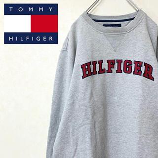 トミーヒルフィガー(TOMMY HILFIGER)のTOMMY HILFIGER 90年代 スウェット トレーナー ロゴ ゆるだぼ(スウェット)