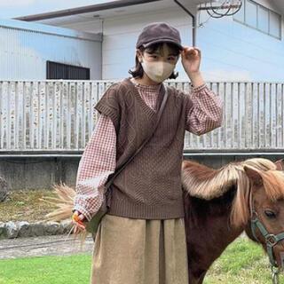 エヘカソポ(ehka sopo)のehka sopo きりまるちゃん着用ベスト(226)(ベスト/ジレ)