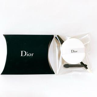 Christian Dior - 【新品】Dior メイク道具セット(パフ・アイシャドー・リップブラシ)★おまけ付