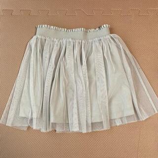 ユニクロ(UNIQLO)のユニクロ チュールスカート 110cm(スカート)