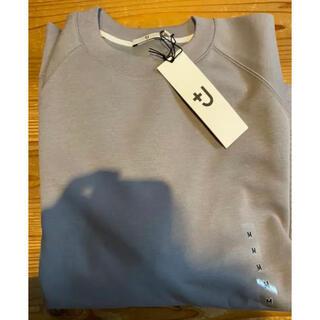 ユニクロ(UNIQLO)の【新品未使用】ドライスウェットシャツ グレイ M(スウェット)