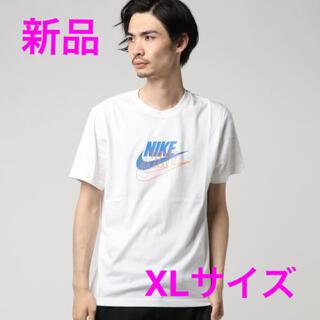 ナイキ(NIKE)のナイキ ビッグロゴ ビッグスウッシュ バックロゴ 新品XL 古着MIXスタイル(Tシャツ/カットソー(半袖/袖なし))