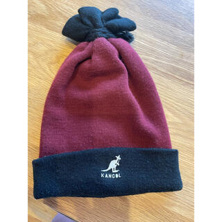 カンゴール(KANGOL)のカンゴール ニット帽(ナイロンジャケット)