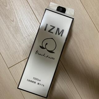 IZMピーチ味置き換えファスティングダイエット酵素ドリンク1000ml (ダイエット食品)