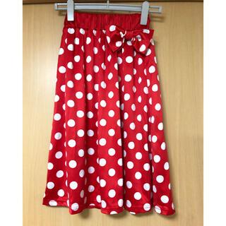 ディズニー(Disney)の新品タグ付き⭐︎ディズニーミニーちゃんスカート(ひざ丈スカート)
