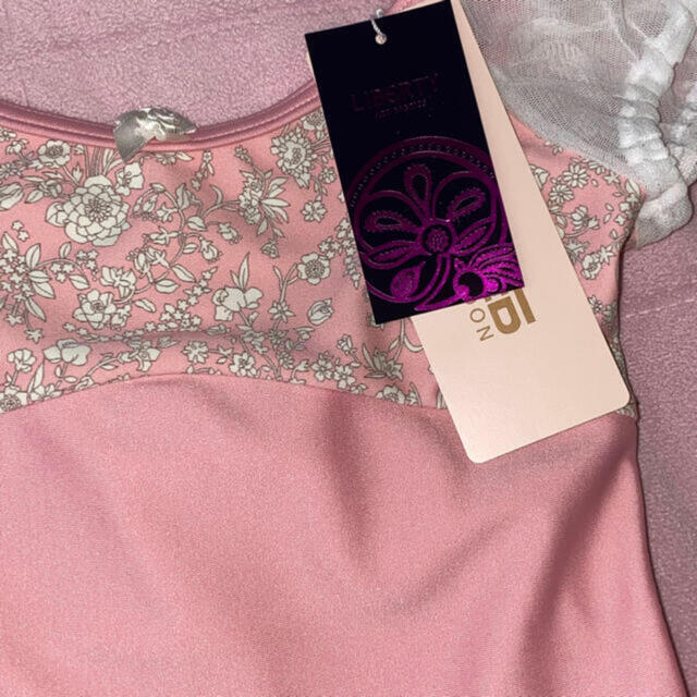 CHACOTT(チャコット)の新品チャコット バレエ  スカート付きレオタード130 日本製 キッズ/ベビー/マタニティのキッズ服女の子用(90cm~)(その他)の商品写真