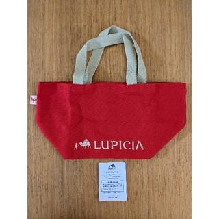 ルピシア(LUPICIA)の【値下】LUPICIA オリジナル トートバッグ 赤(トートバッグ)