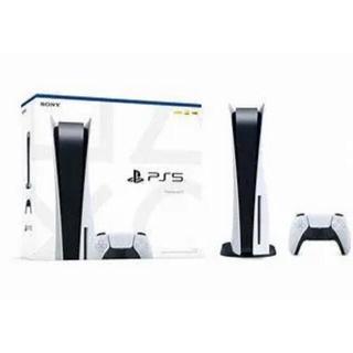 プレイステーション(PlayStation)のPS5 プレステ5 プレイステーション5 本体 新品  ディスクドライブ搭載(その他)