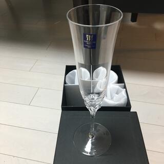 トウヨウササキガラス(東洋佐々木ガラス)のワイングラス 四脚セット(食器)