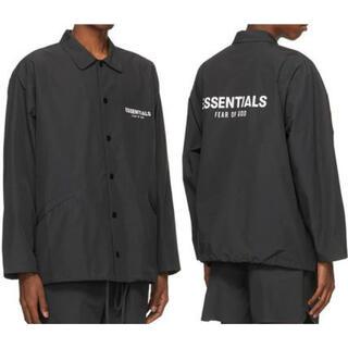 フィアオブゴッド(FEAR OF GOD)の最終値下げ essentials Souvenir jacket 黒 XS(ナイロンジャケット)