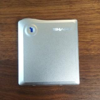 シャープ(SHARP)のSHARP MDプレーヤー DS33-S(ポータブルプレーヤー)