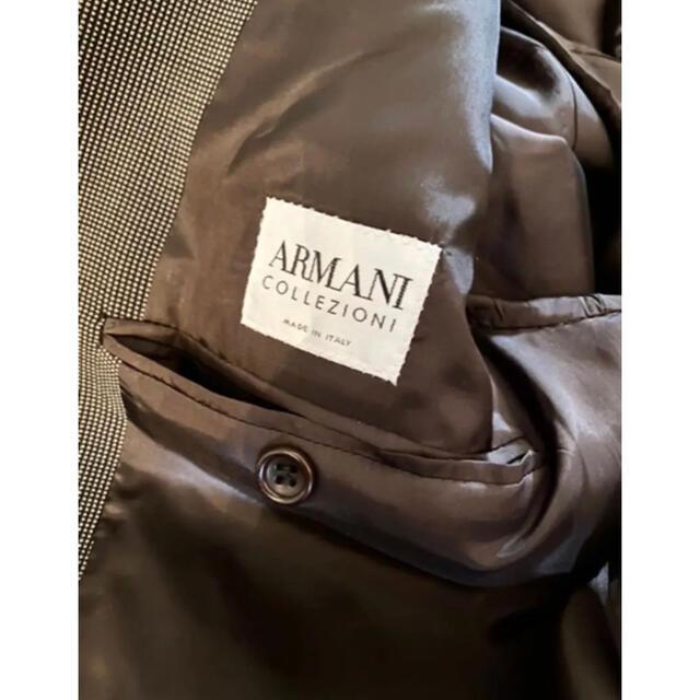 ARMANI COLLEZIONI(アルマーニ コレツィオーニ)の【美品】ARMANI COLLEZIONI tweed setup 52R メンズのスーツ(セットアップ)の商品写真