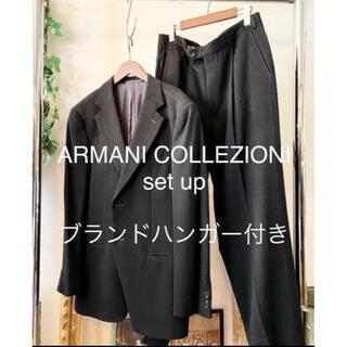 ARMANI COLLEZIONI - 【美品】ARMANI COLLEZIONI tweed setup 50R