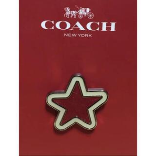 コーチ(COACH)のCOACH ピンバッチ 星(バッジ/ピンバッジ)