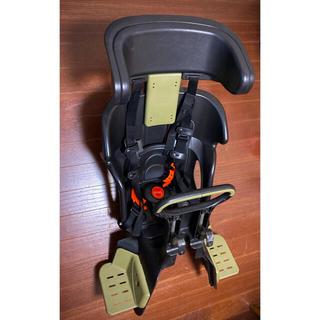 前乗せタイプ チャイルドシート アーミーグリーン OGK FBC-011DX3 (自動車用チャイルドシート本体)