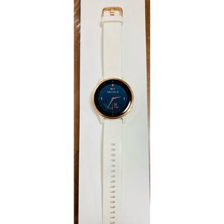 ガーミン(GARMIN)のガーミン vivoactive4S White RoseGold(腕時計)