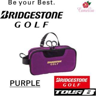 ブリヂストン(BRIDGESTONE)の新品 BRIDGESTONE ブリヂストン BSG 2層ポーチ パープル(バッグ)