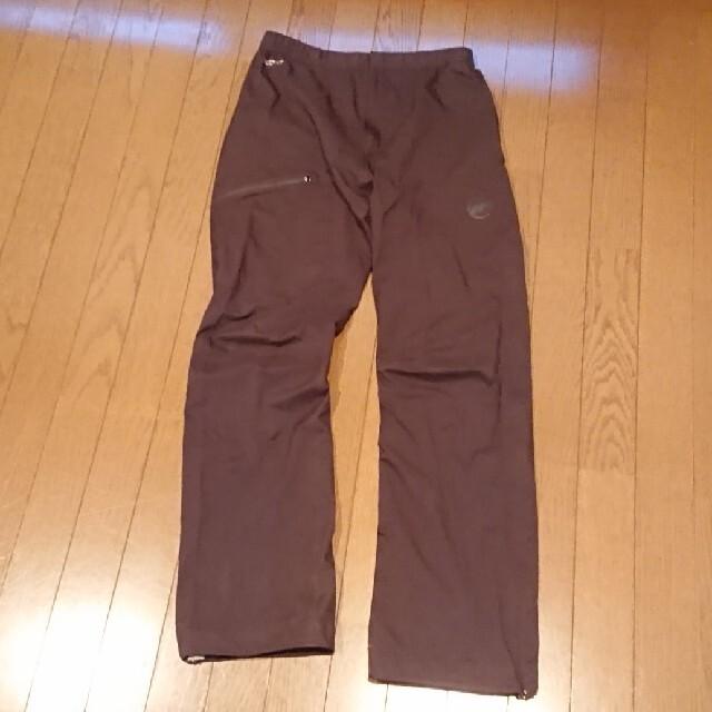Mammut(マムート)のマサオ ライト ハードシェル パンツ Asia L サイズ メンズのパンツ(その他)の商品写真