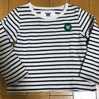 ウッドウッド(WOOD WOOD)のダブルA 1〜2歳☆ボーダーロンT(Tシャツ/カットソー)