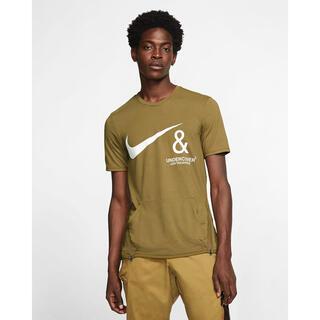 ナイキ(NIKE)のナイキ アンダーカバー コラボTシャツ(ブラウン L)(Tシャツ/カットソー(半袖/袖なし))
