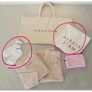 アリシアスタン(ALEXIA STAM)のALEXIA STAM ロンT &靴下(カットソー(長袖/七分))