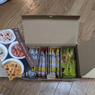 カゴメ(KAGOME)の野菜と豆の具だくさんポタージュ(レトルト食品)