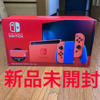 ニンテンドースイッチ(Nintendo Switch)のSwitch 本体 マリオレッド(家庭用ゲーム機本体)