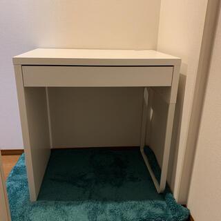 イケア(IKEA)のIKEA MICKE ミッケ 学習机 (小さめ)(学習机)
