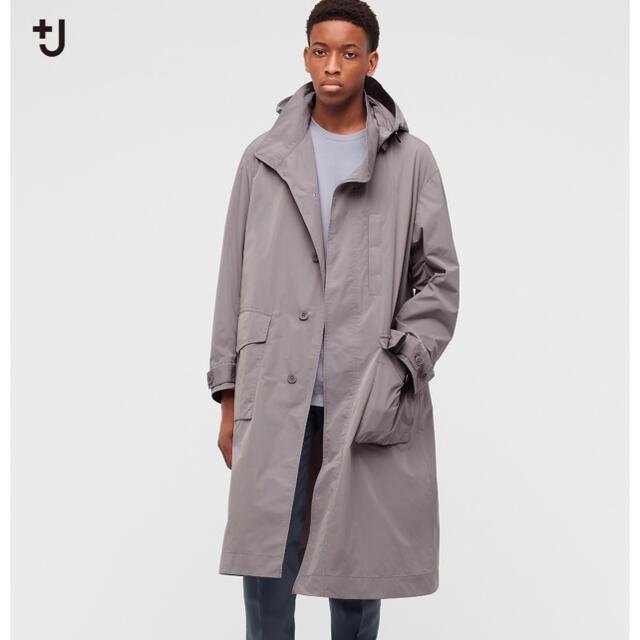 UNIQLO(ユニクロ)のオーバーサイズフーデッドロングコート メンズのジャケット/アウター(ステンカラーコート)の商品写真