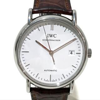 インターナショナルウォッチカンパニー(IWC)のIWC IW353312 cal.30110 腕時計 SS×革ベルト シルバー(腕時計(アナログ))