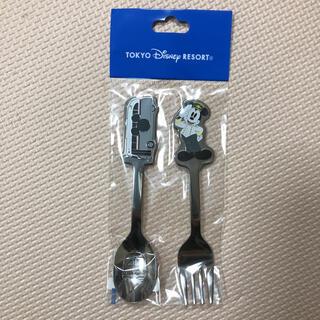 ディズニー(Disney)のディズニー リゾートクルーザー ミッキー バス カトラリー スプーン フォーク(カトラリー/箸)