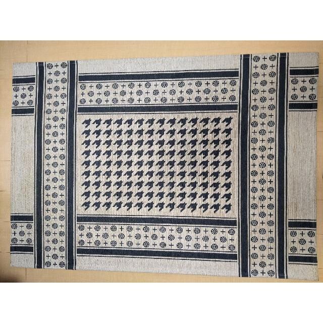 unico(ウニコ)のunico ウニコ KUFIYA フラットラグ 100×140 インテリア/住まい/日用品のラグ/カーペット/マット(ラグ)の商品写真