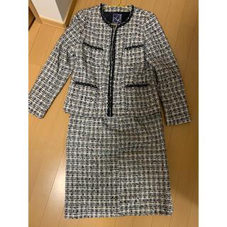 ジュンアシダ(jun ashida)のJUN ASHIDA 春 スーツ セットアップ ツイード(スーツ)