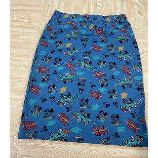 ディズニー(Disney)のお値下げ済み ミッキースカート(ひざ丈スカート)