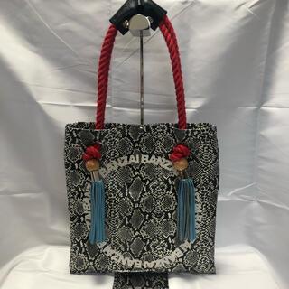 トーガ(TOGA)のTOGA BANZAI ヘビ柄 トートバッグ 美品 限定品(トートバッグ)
