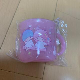 リトルツインスターズ(リトルツインスターズ)の新品 キキララ プラコップ プラカップ(グラス/カップ)