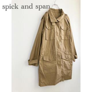 Spick and Span - ★スピックアンドスパン★コットンジャケット ロングジャケット
