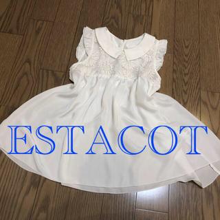 エスタコット(ESTACOT)のエスタコット セクシー トップス(Tシャツ(半袖/袖なし))